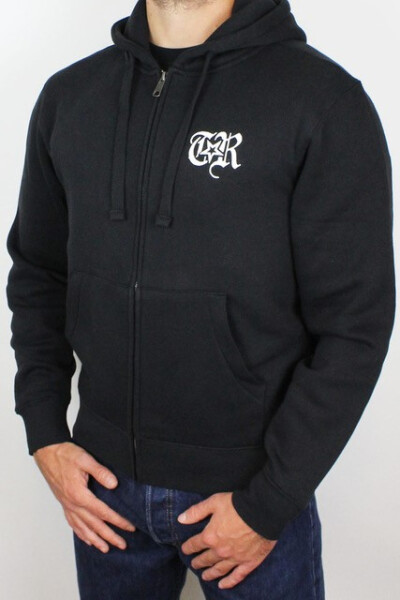 True Rebel Zip Hoodie No Borders Black