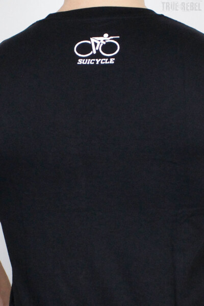 Suicycle T-Shirt Logo Black