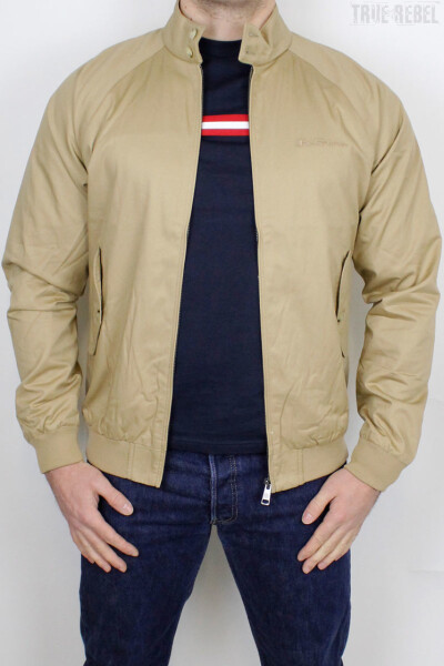 Ben Sherman Jacket Harrington Signature Sand