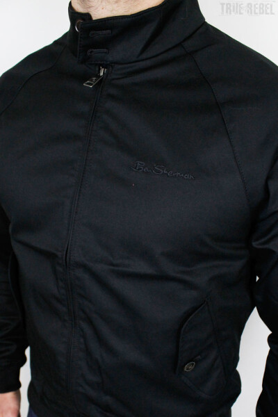 Ben Sherman Jacket Harrington Signature Black