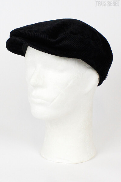 Brixton Cap Hooligan Cord Black