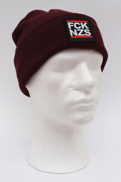 True Rebel Beanie FCK NZS Burgundy