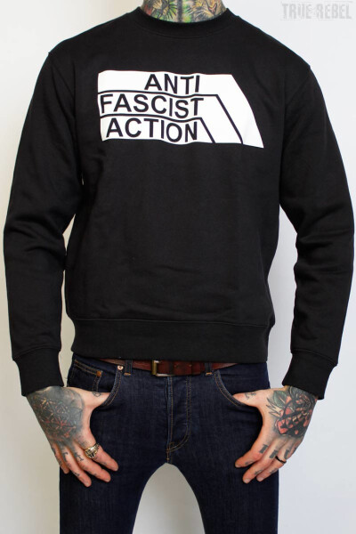 True Rebel Sweater AFA 2.0 Black