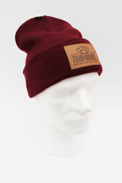 True Rebel Beanie Brassknuckle Burgundy
