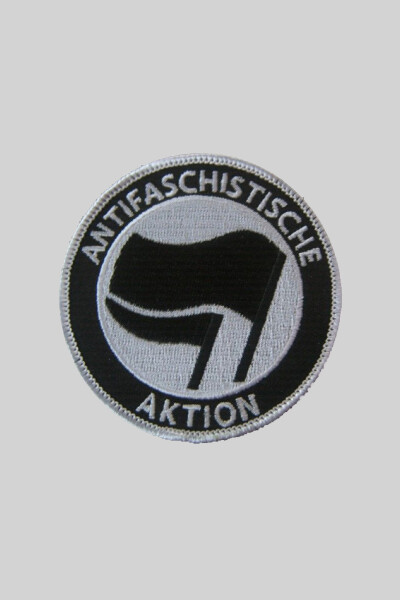 Patch Antifaschistische Aktion - Schwarz