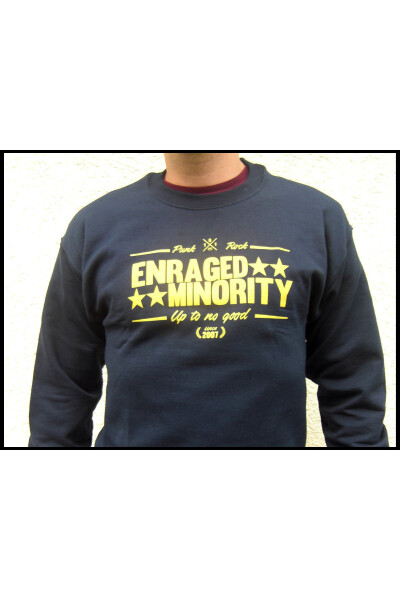 Enraged Minority Sweater Casual Navy